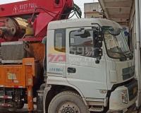 2018年8月威士重工33米搅拌泵车