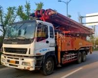 2013年三一五十铃49米泵车