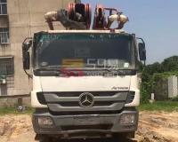 2013年8月三一奔驰46米泵车