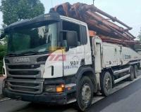 2013年中联斯堪尼亚56米泵车