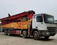 2013年三一奔驰52米泵车