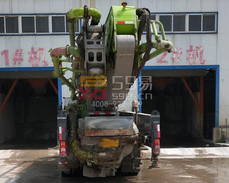 2018年中联奔驰49米泵车