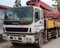 2012年三一五十铃37米泵车(大排量)