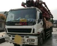 2009年12月三一五十铃46米泵车