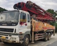 2012年12月三一五十铃46米泵车