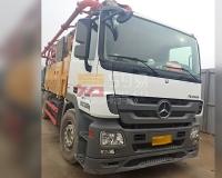 2018年12月三一奔驰49米泵车(方量少)