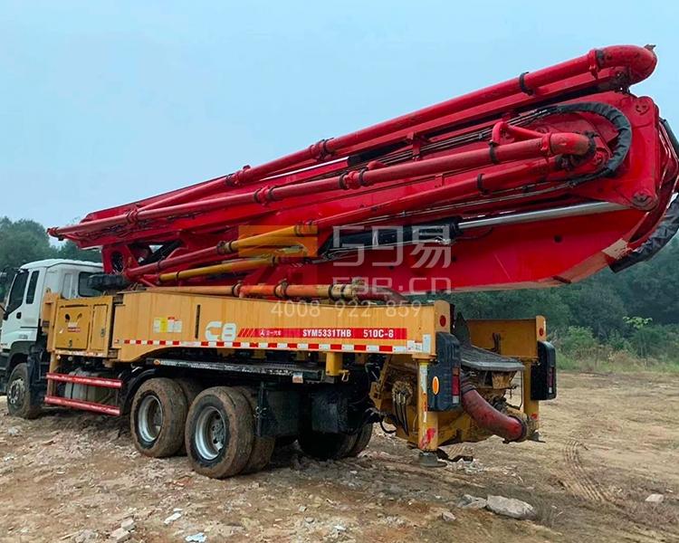 2018年4月三一五十铃49米泵车