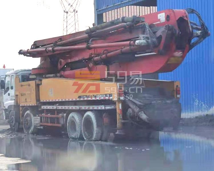 2011年三一五十铃50米泵车