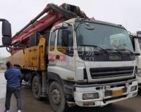 2010年12月三一五十铃56米泵车