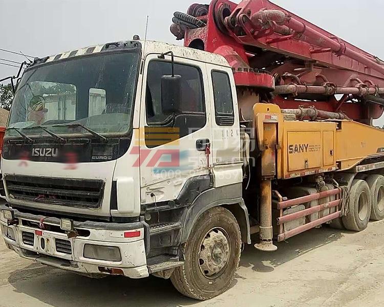 2010年三一五十铃43米泵车