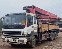2012年三一五十铃37米泵车