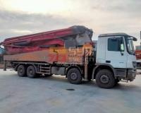 2011年三一奔驰52米泵车