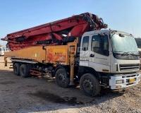 2014年三一五十铃56米泵车