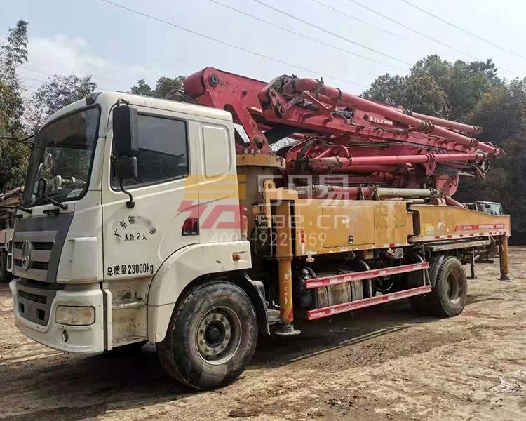 2018年三一37米泵车