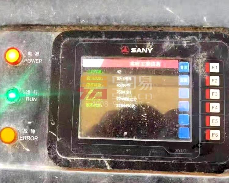 2012年三一奔驰56米泵车