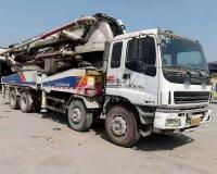 2010年6月中联五十铃48米泵车