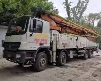 2012年底中联奔驰56米泵车