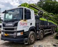 2020年9月中联斯堪尼亚63米泵车