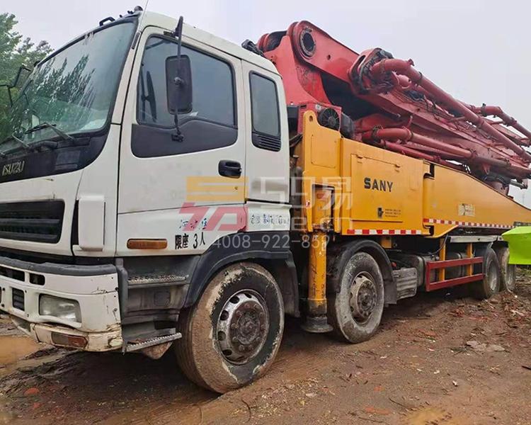 2011年4月三一五十铃50米泵车