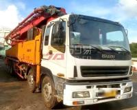 2012年9月三一五十铃52米泵车