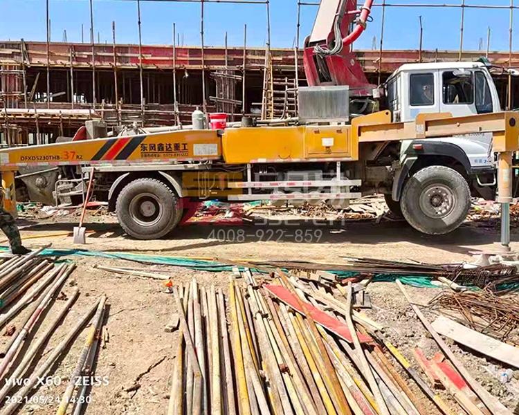 2019年3月东风鑫达37米泵车