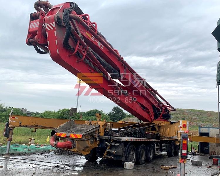 2017年三一奔驰66米泵车