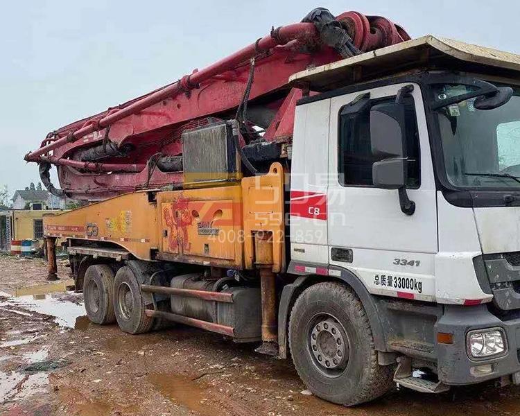 2014年9月三一奔驰49米泵车