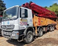 2014年10月三一奔驰56米泵车