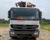 2014年中联奔驰49米泵车