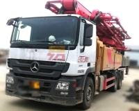 2019年12月三一奔驰52米泵车