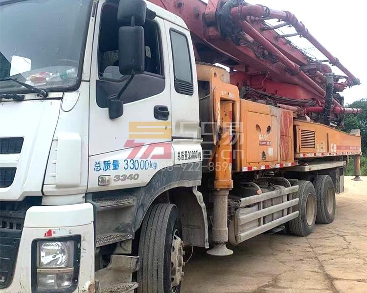 2015年三一五十铃48米泵车