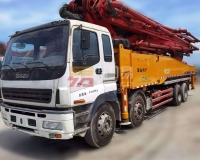 2012年三一五十铃56米泵车