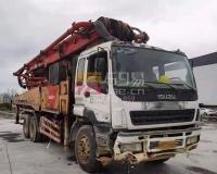 2012年6月三一五十铃46米泵车