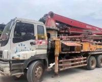 2013年1月三一五十铃37米泵车