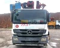 2015年三一奔驰底盘49米泵车