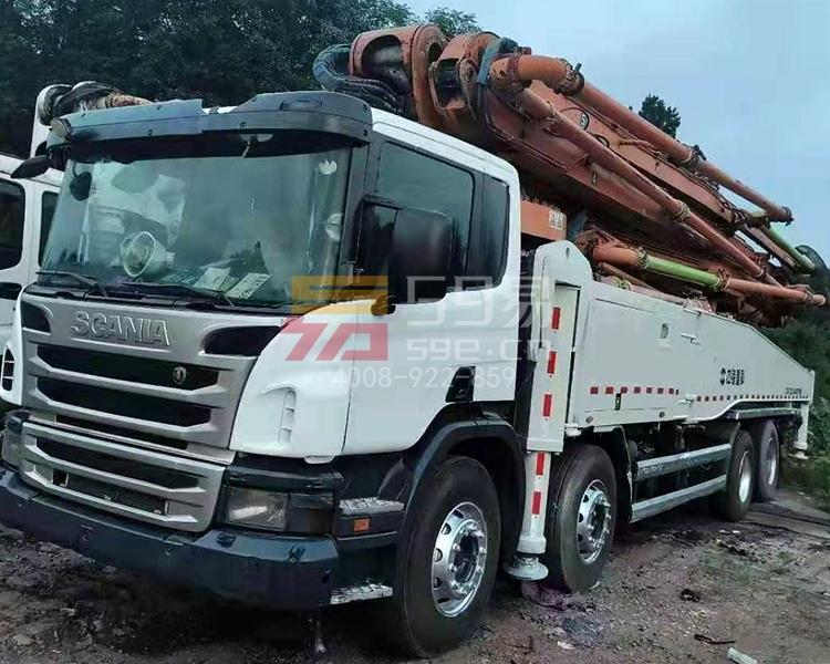 2013年12月中联斯堪尼亚56米泵车