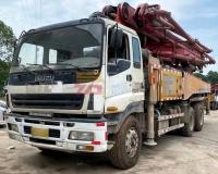 2012年三一五十铃43米泵车