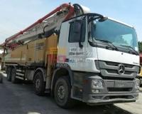 2019年9月徐工奔驰62米泵车