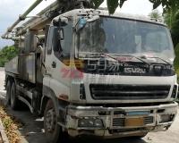 2011年5月中联五十铃38米泵车