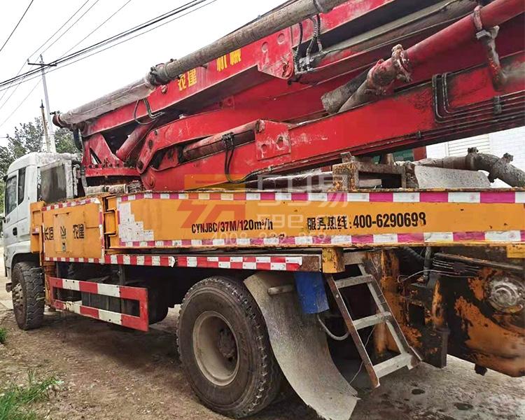 2018年东风农建37米泵车