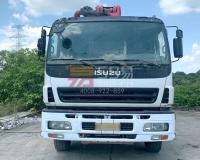 2013年三一五十铃37米泵车