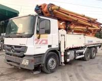 2014年6月中联奔驰49米泵车