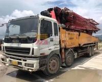 2012年7月三一五十铃52米泵车