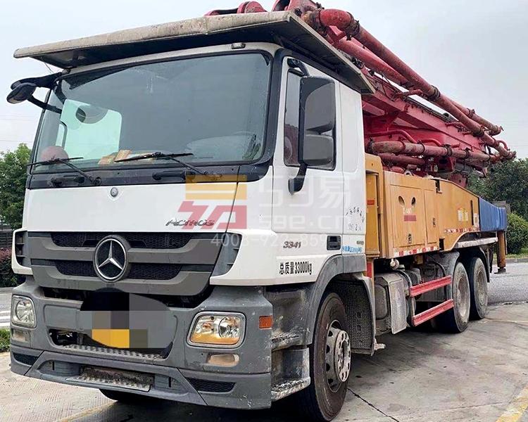 2017年三一奔驰49米泵车