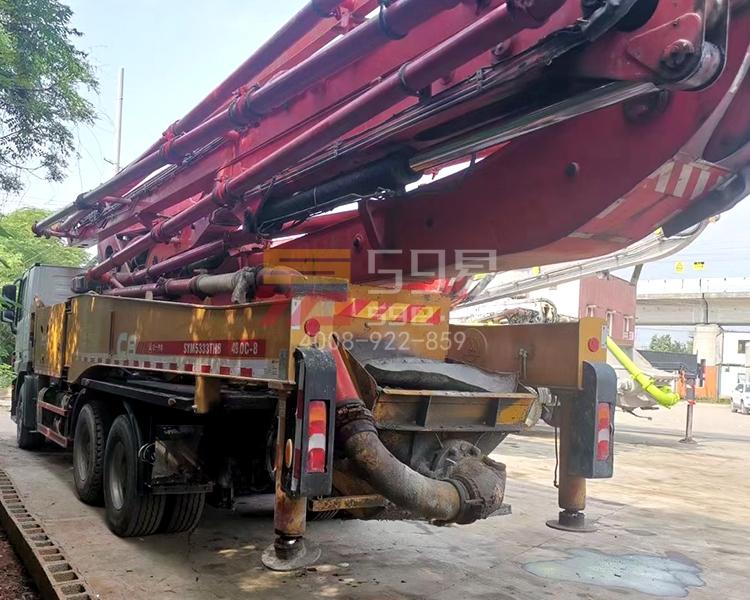 2018年11月三一奔驰49米泵车