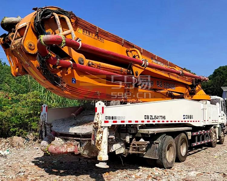 2015年中联五十铃52米泵车