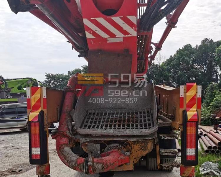 2018月7月三一奔驰56米泵车