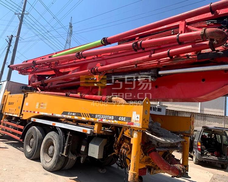 2013年5月三一奔驰49米泵车